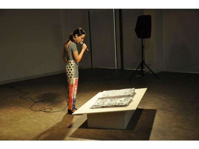 5. Performance /fu:d/, 2014. Fundació Antoni Tàpies, Barcelona